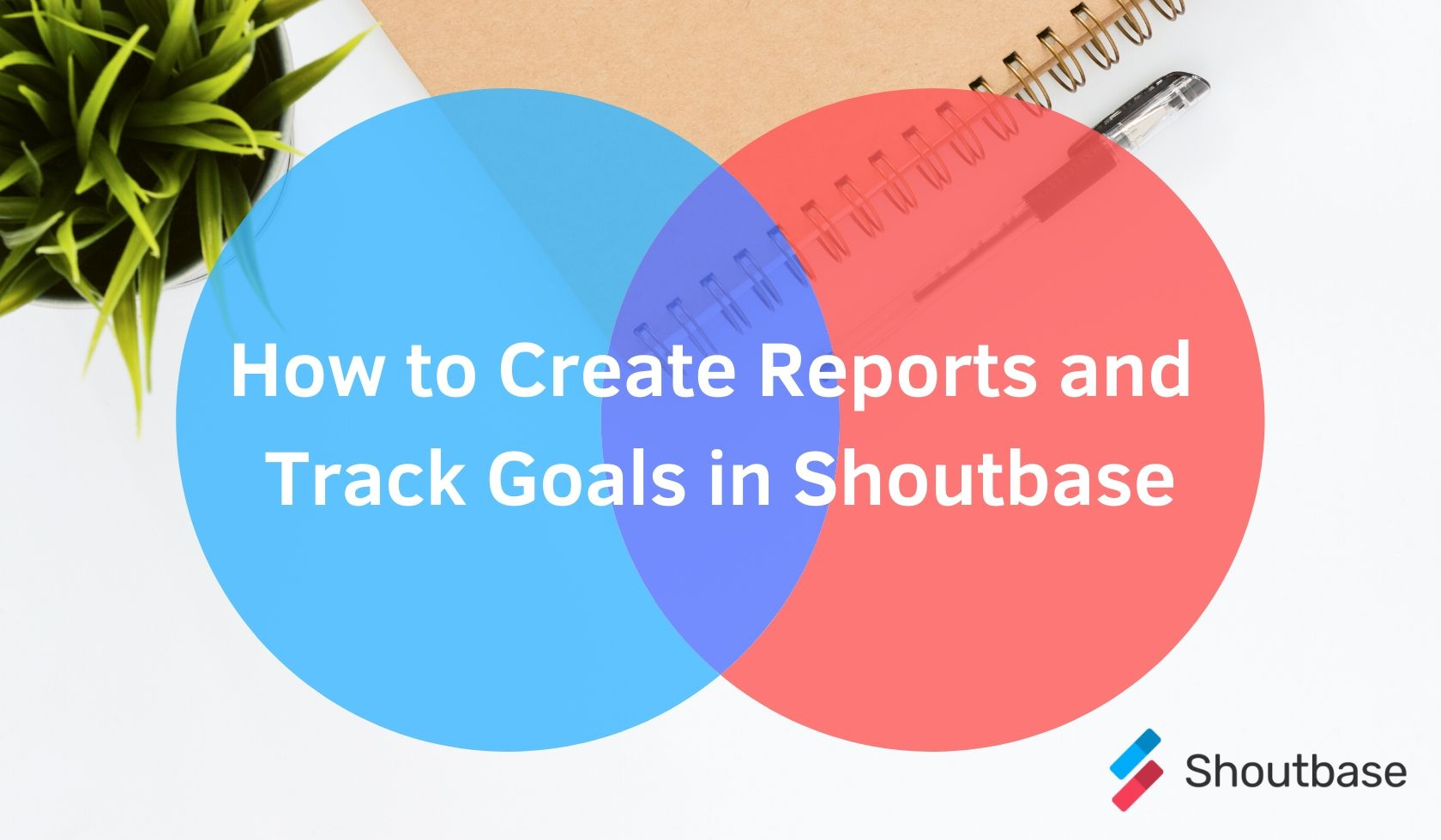How to Create Reports and Track Goals in Shoutbase